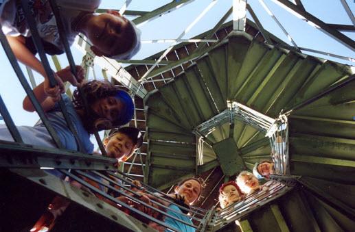 Klasse 1/2 auf dem Wilzenbergturm