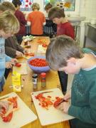 Einrichtung einer Schulküche
